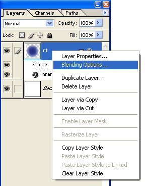 layer style photoshop inner shadow